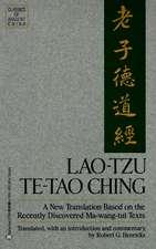 Lao-Tzu:  Te-Tao Ching