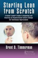 STARTING LEAN FROM SCRATCH TIMMERM