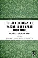 Role of Non-State Actors in the Green Transition