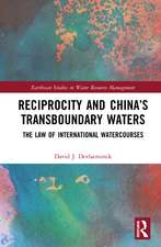 Reciprocity and China's Transboundary Waters