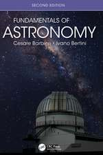 Barbieri, C: Fundamentals of Astronomy