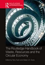 Routledge Handbook of Waste, Resources and the Circular Economy