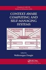 Context-Aware Computing and Self-Managing Systems