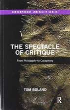 Spectacle of Critique