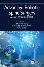 Advanced Robotic Spine Surgery