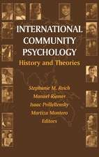 International Community Psychology: History and Theories