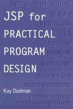 JSP for Practical Program Design