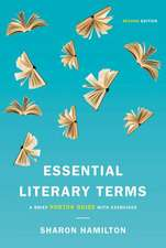 Essential Literary Terms – A Brief Norton Guide with Exercises