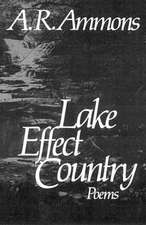 Ammons ∗lake Effect∗ Country – Poems