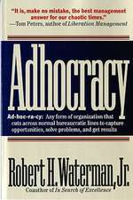 Adhocracy – The Power to Change