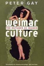 Weimar Culture – The Outsider as Insider