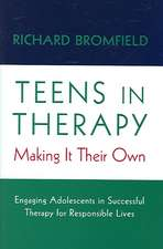 Teens in Therapy – Making it Their Own
