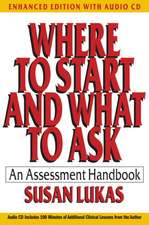 Where to Start and What to Ask – An Assessment Handbook
