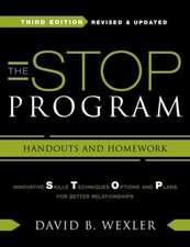 The STOP Program – Handouts and Homework 3e
