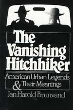 The Vanishing Hitchhiker – American Legends and their Meanings Rei