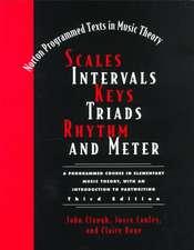 Scales, Intervals, Keys, Triads, 3e