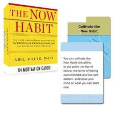 Now Habit Motivation Cards