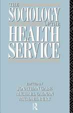 The Sociology of the Health Service