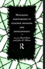 Managing Partnership in Teacher Training and Development