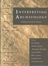 Interpreting Archaeology