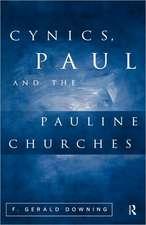 Cynics, Paul & the Pauline Churches
