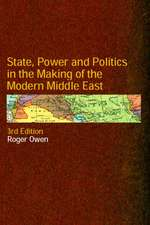 State, Power and Politics in the Making of the Modern Middle East:  Health and Safety Hazards