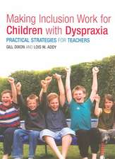 Making Inclusion Work for Children with Dyspraxia