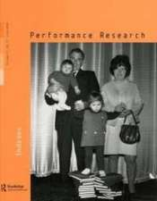 Performance Research:  11.2