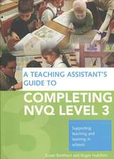 nvq 3 teaching assistant Special educational needs (sen) teaching assistant special needs classroom assistant, special needs learning support assistant.