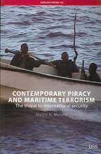 Contemporary Piracy and Maritime Terrorism