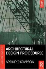 Architectural Design Procedures