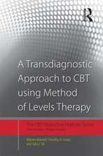 A Transdiagnostic Approach to CBT Using Method of Levels Therapy