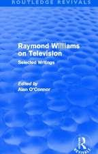 Raymond Williams on Television