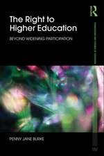 The Right to Higher Education