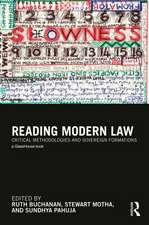 Reading Modern Law