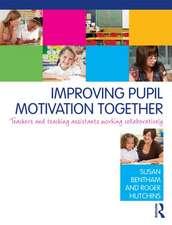 Improving Pupil Motivation Together