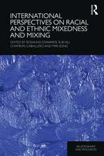 International Perspectives on Racial and Ethnic Mixedness an