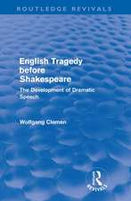 English Tragedy before Shakespeare
