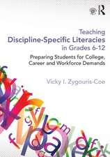 Teaching Discipline-Specific Literacies in Grades 6-12
