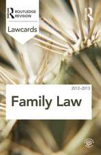 Family Law:  Readings and Cases in a Global Context