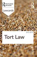 Tort Law:  Readings and Cases in a Global Context