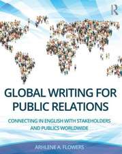 Global Writing for Public Relations