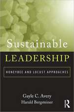 Sustainable Leadership:  Honeybee and Locust Approaches