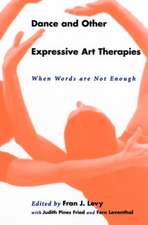 Dance and Other Expressive Art Therapies
