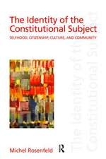 The Identity of the Constitutional Subject