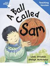 Rigby Star Guided Reading Blue Level: A Ball Called Sam Teaching Version