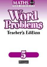 Maths Plus Word Problems 5: Teacher's Book