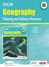 AS Geography for OCR LiveText for Teachers with Planning and Delivery Resource