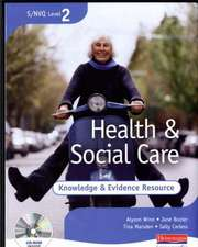 S/NVQ Level 2 Health and Social Care Knowledge and Evidence Resource File + CD-ROM