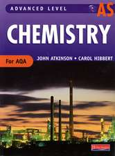 AS Level Chemistry for AQA Student Book